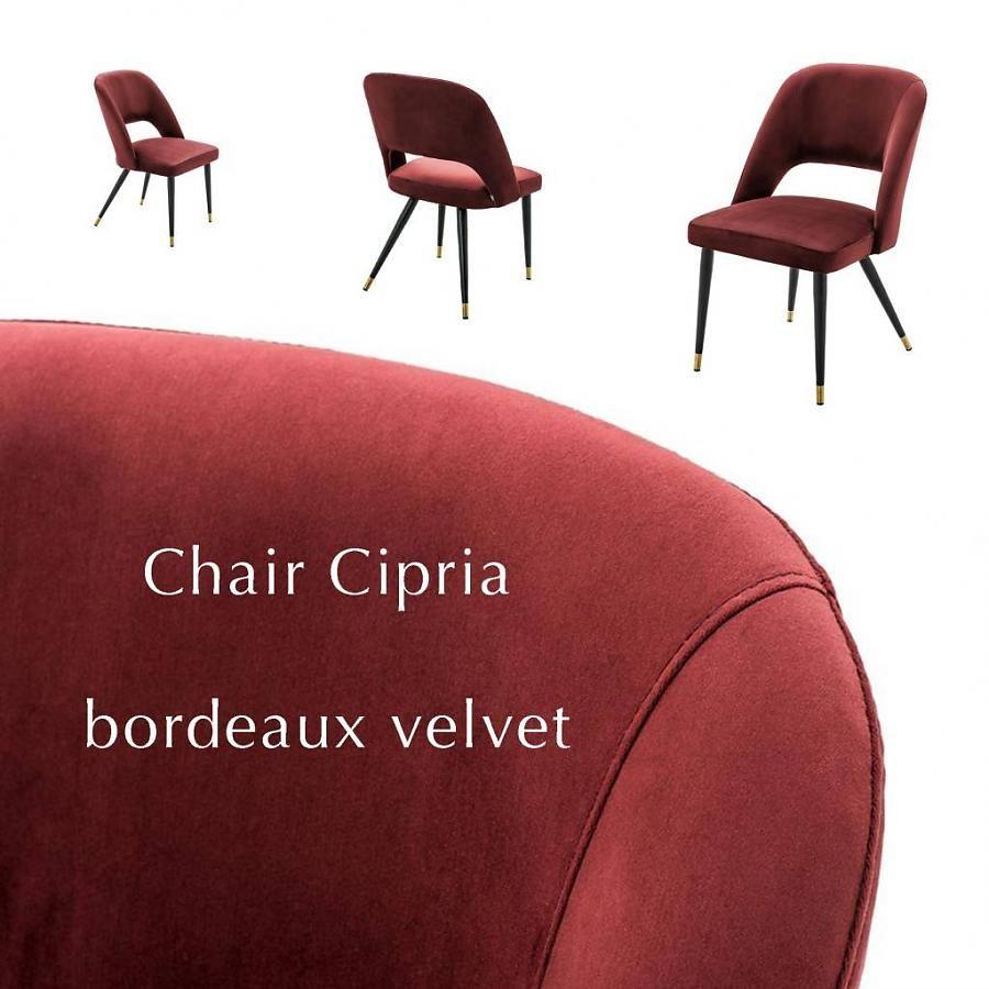 Eichholtz stoel Bordeaux chair cipria velvet - Eichholtz winkel ...