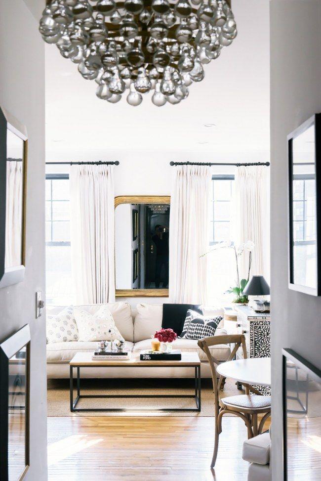 Clever  platzsparend So kannst du ein kleines Wohnzimmer stilvoll