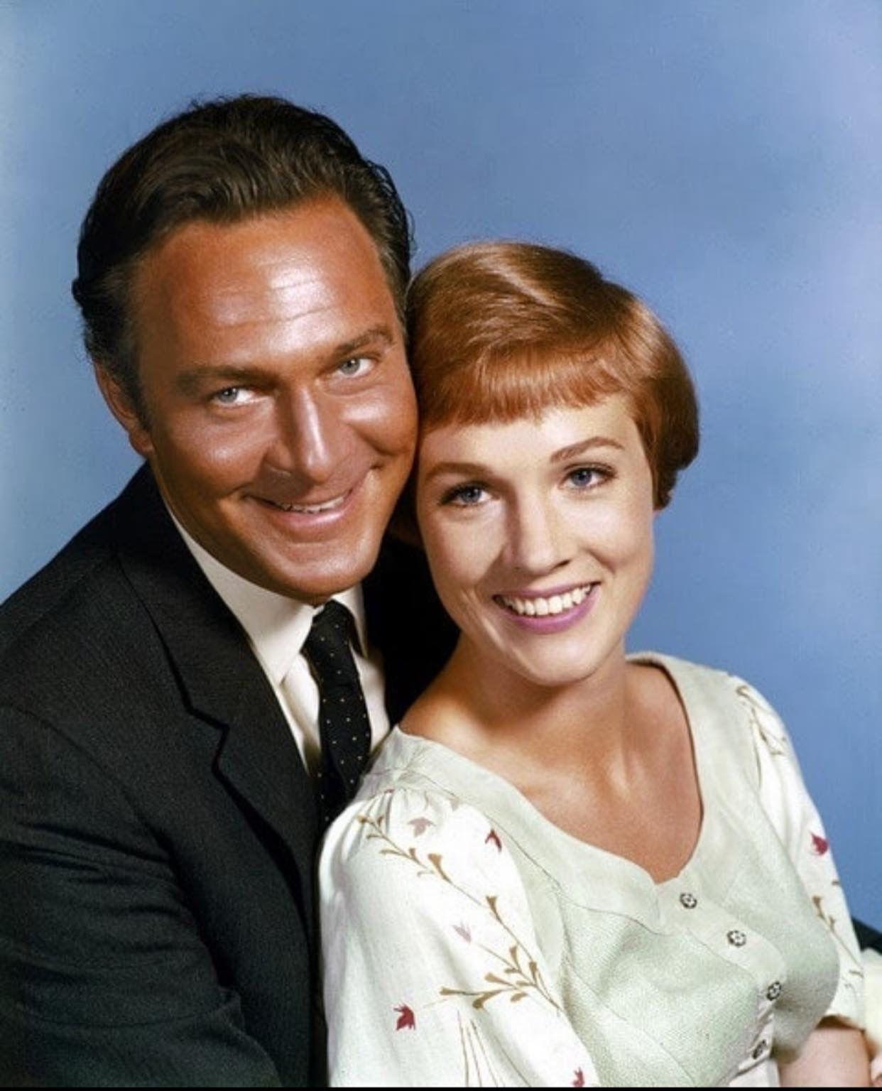 Christopher Plummer And Julie Andrews Christopher Plummer Sound Of Music Movie Julie Andrews