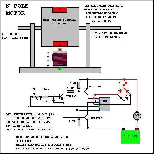Circuito Motor Bedini : John bedini ideas and motors motores pinterest