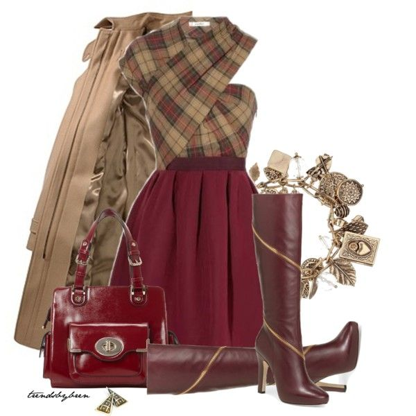 Sexy tartan, created by trendsbybren on Polyvore