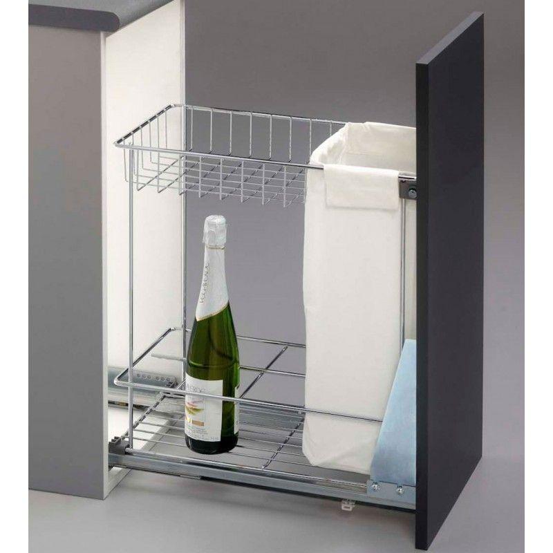 NANAD ahorra espacio pr/áctico soporte para botellas champ/án estante para frigor/ífico duradero blanco leche antideslizante casa Tama/ño libre encimera Botellero de estilo europeo para cocina
