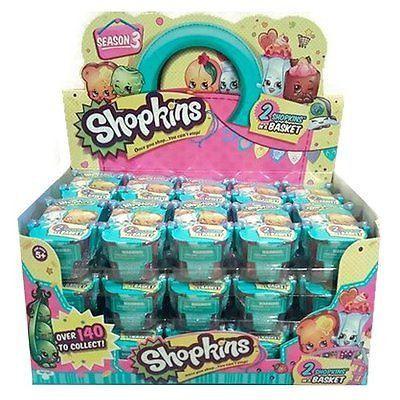 Shopkins Season 3 Sealed Case 30 Blind Baskets 2 Packs 60 Figures