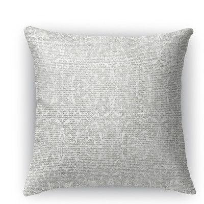 Kavka Huelva Throw Pillow Size: