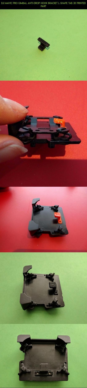 Dji Mavic Pro Gimbal Anti Drop Hook Bracket L Shape Tab 3d Printed Dual Spark Adapter With Neck Strap Air Part Shopping Drone Fpv Technology Gadgets Camera P