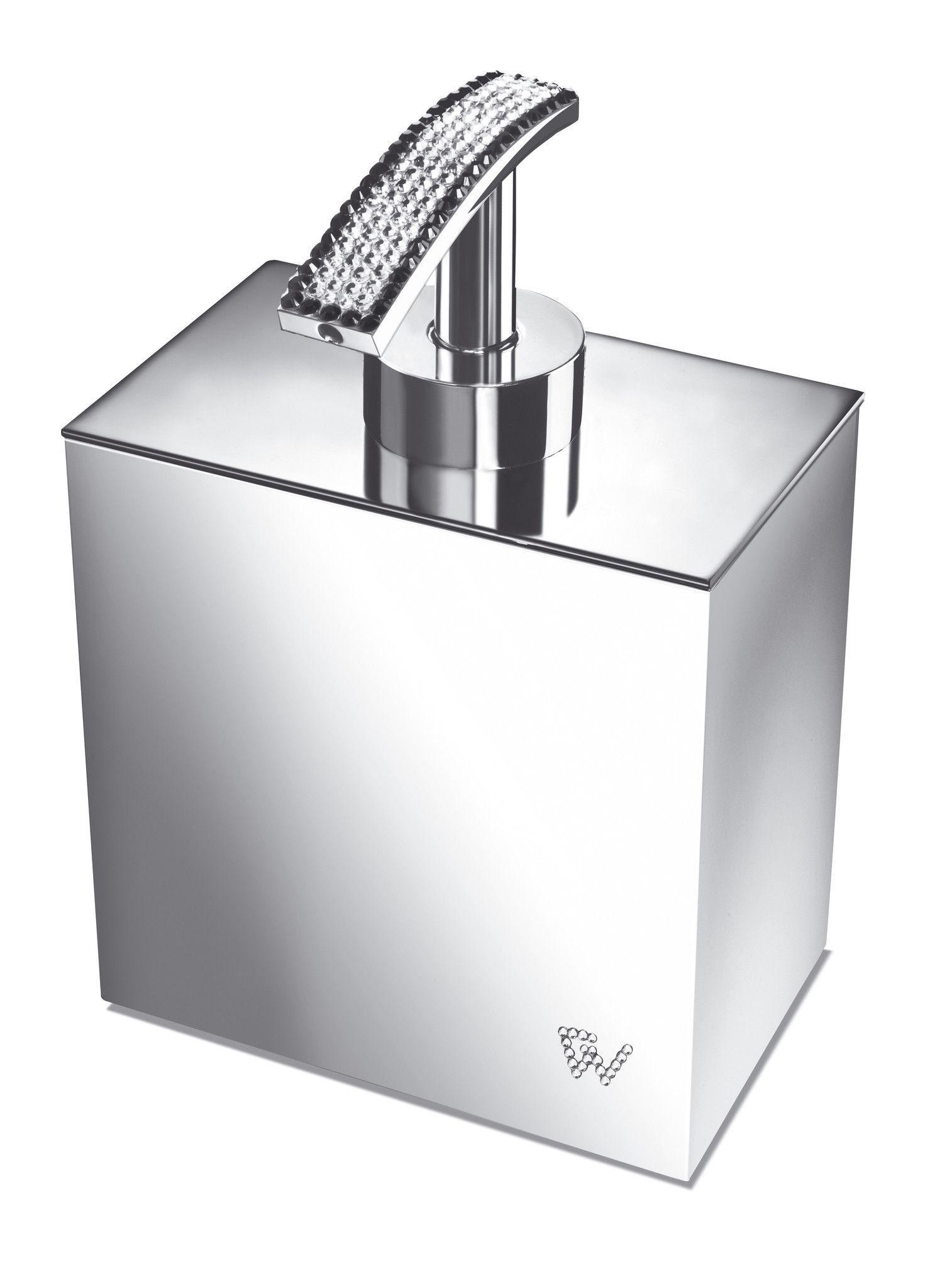 Starlight Square Soap Dispenser W/ Swarovski Crystals