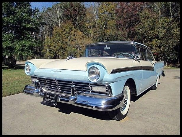 1957 Ford Fairlane 500  272 CI, Automatic