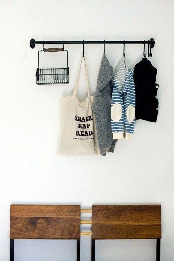 40 Cool And Creative Diy Coat Rack Ideas Mud Room Storage Diy