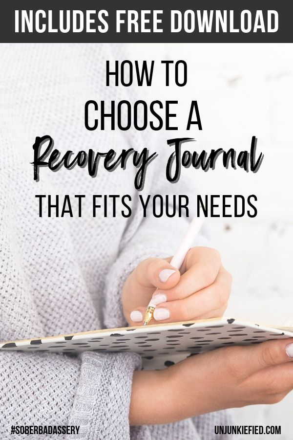 The best way to improve your life and work on yourself in addiction recovery is by using a recovery journal. Read on to find out how to choose the best journal for your specific needs. #journaling #journalprompts #recoveryjournal #soberjournal #selfimprovment #writingtherapy #selfimprovement #selfawareness #soberliving