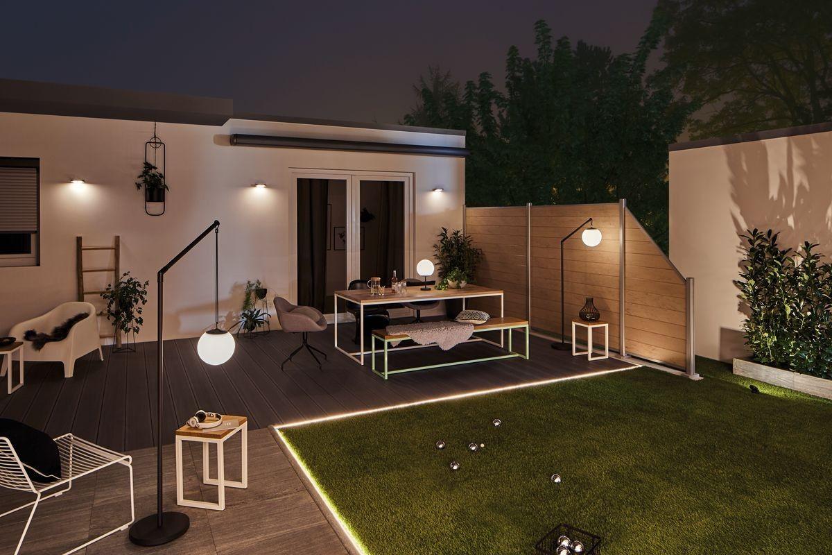 Pin Auf Beleuchtung Terrasse