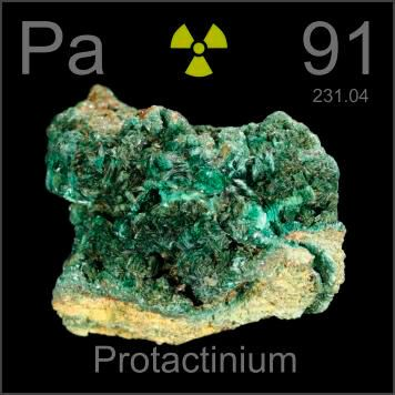 Protactinium+Element Protactinium occurs in vanishingly small - new periodic table with atomic mass and isotopes