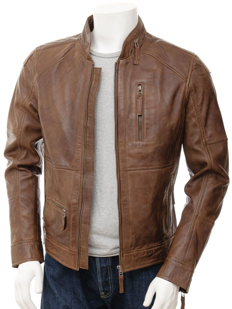 How to style with a brown leather jacket? in 2020 (With