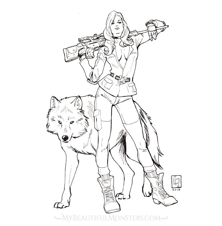 Metal Gear Solid Coloring Pages