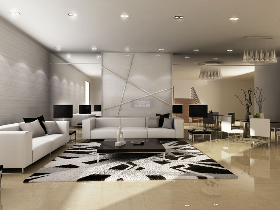Living room design id project by aptus dstudio