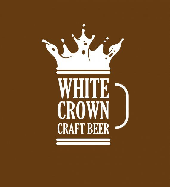 White Crown Craft Beer Brands Of The World Download Vector