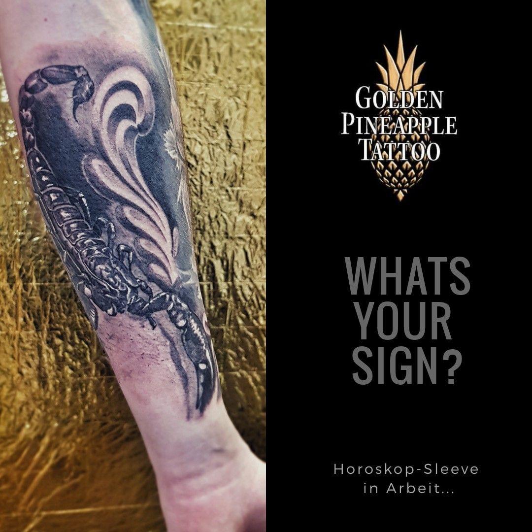 Pin Von Golden Pineapple Tattoo Auf Tattoos By Conny Rapp