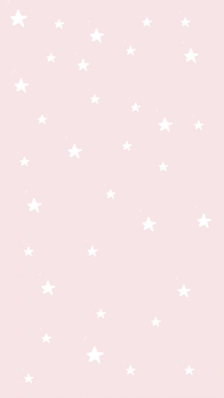 Cute Aesthetic Light Pink Wallpaper