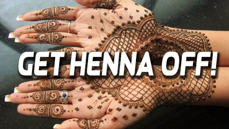 How To Remove Henna Color From Hands Instantly