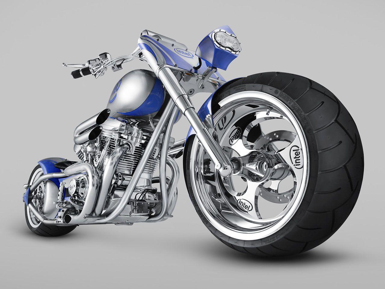 Intel Custom Motorcycle