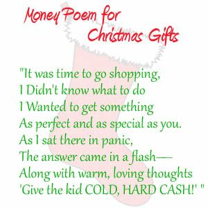 The Christmas Gift Poem