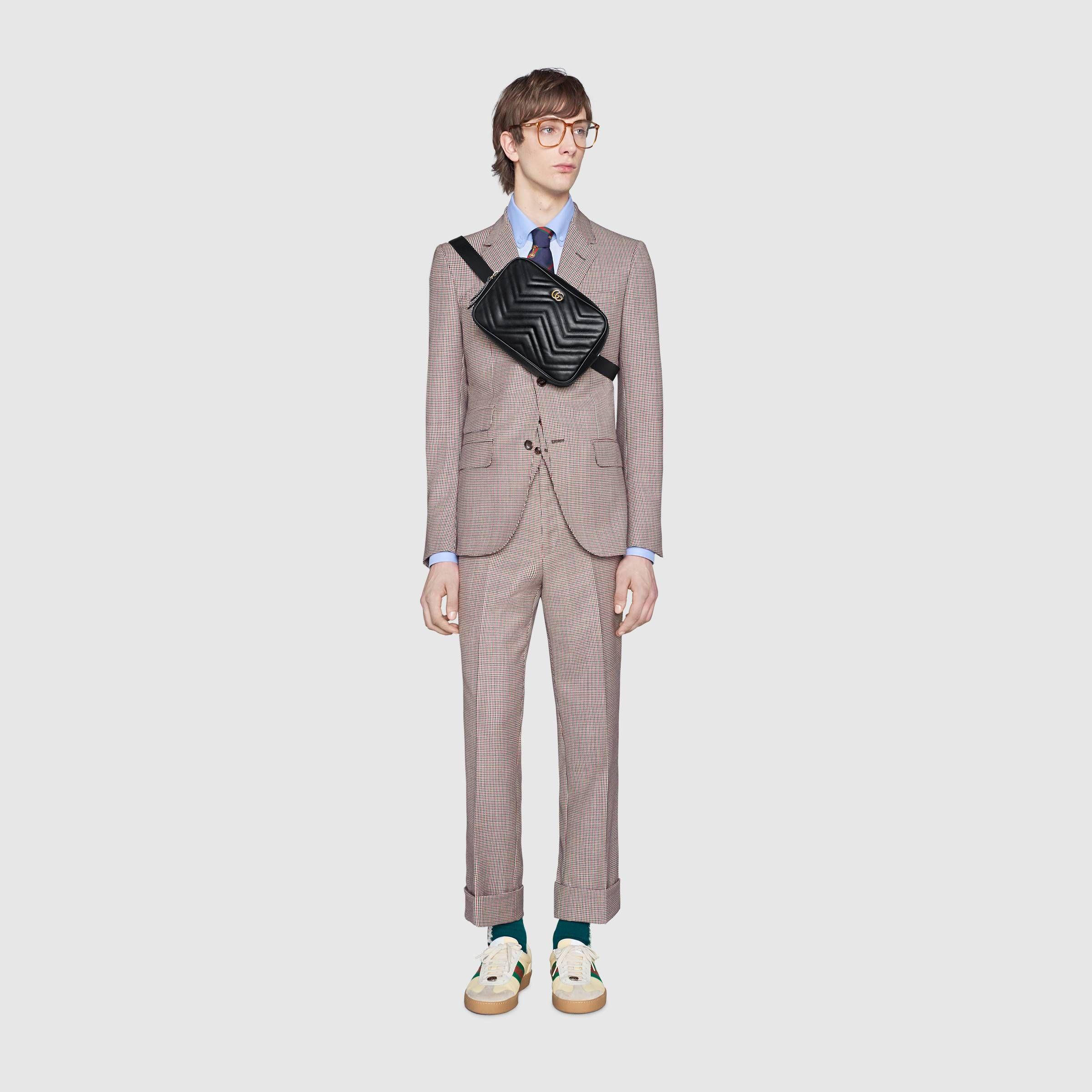 fe9dd514e20ecb GG Marmont matelassé belt bag | Sling bag | Bags, Gucci gifts, Gg ...