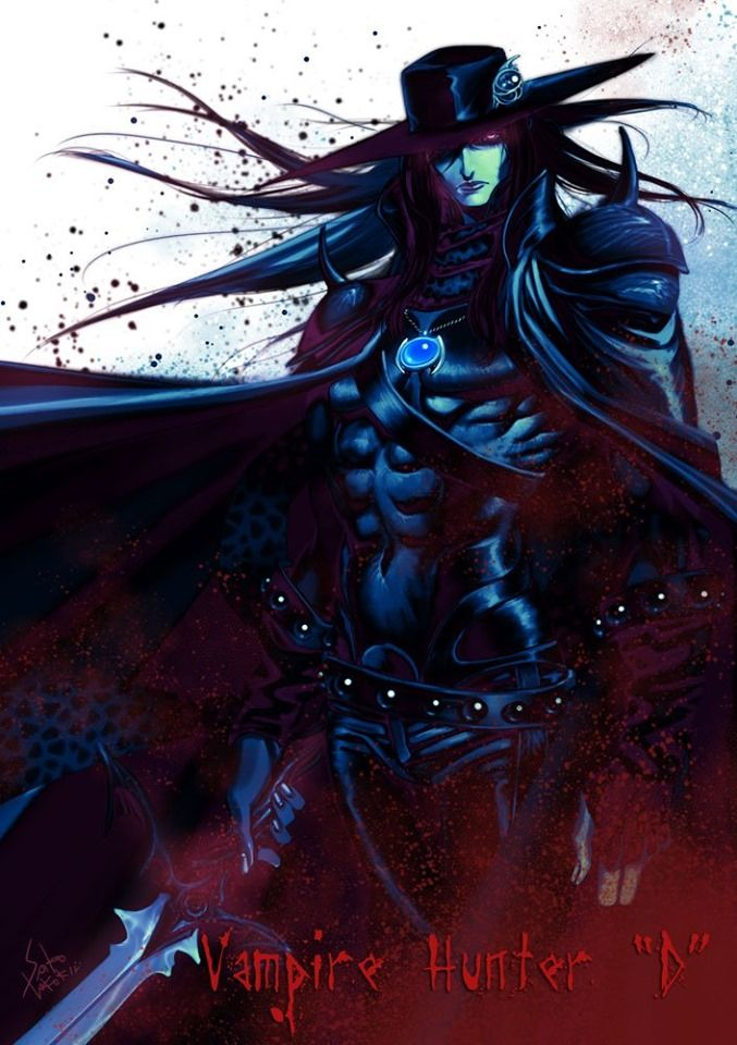 Pin By Danielle Miller On Masterpieces And Cool Pix Vampire Hunter D Vampire Hunter
