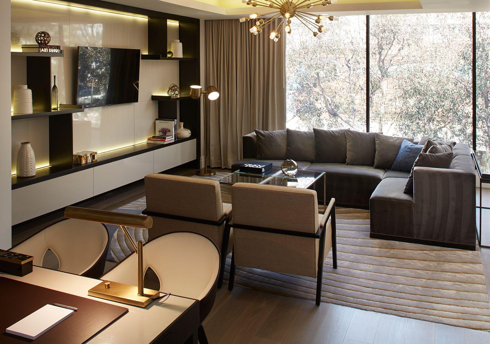 London West Hollywood Luxury hotels interior, Hotel