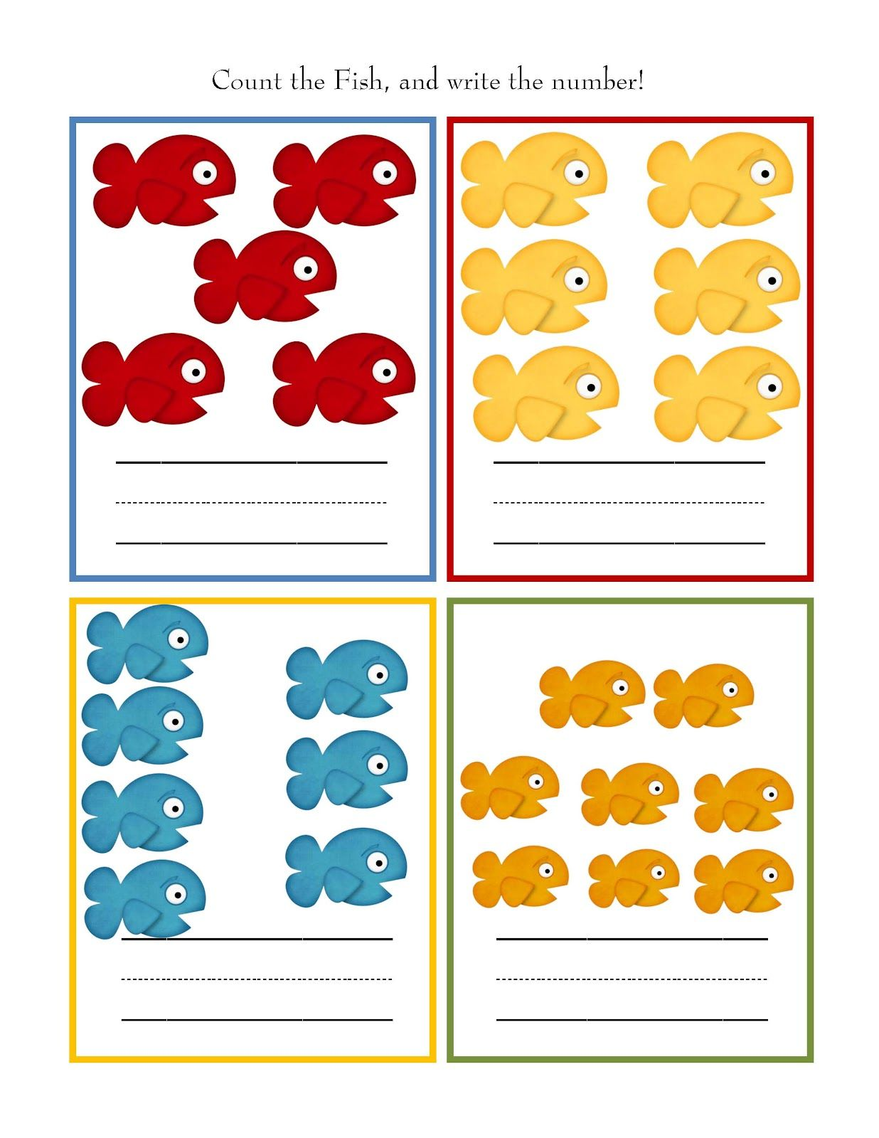 Preschool Printables Beach Days