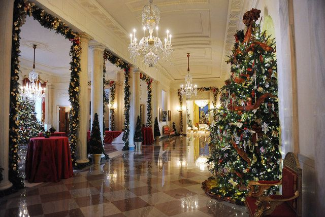 Christmas tour of the Whitehouseabsolutely stunning and very