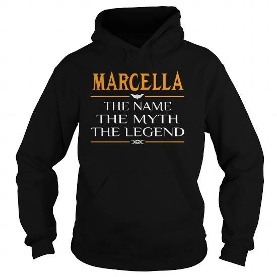 Awesome Tee Marcella Legend Name Marcella  TeeForMarcella T shirts