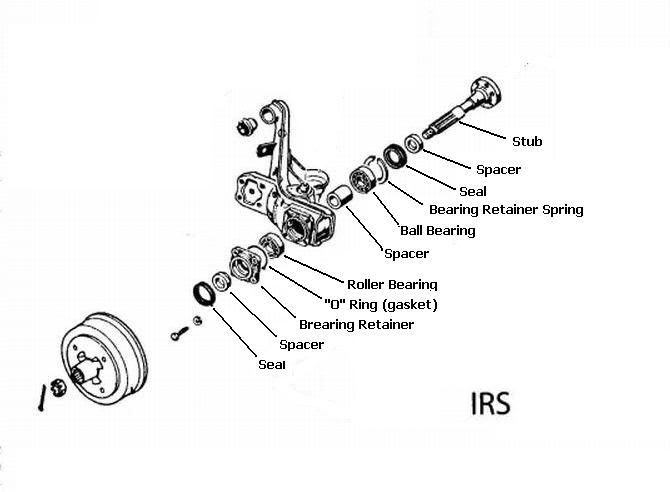 Vw Irs Axle Diagram