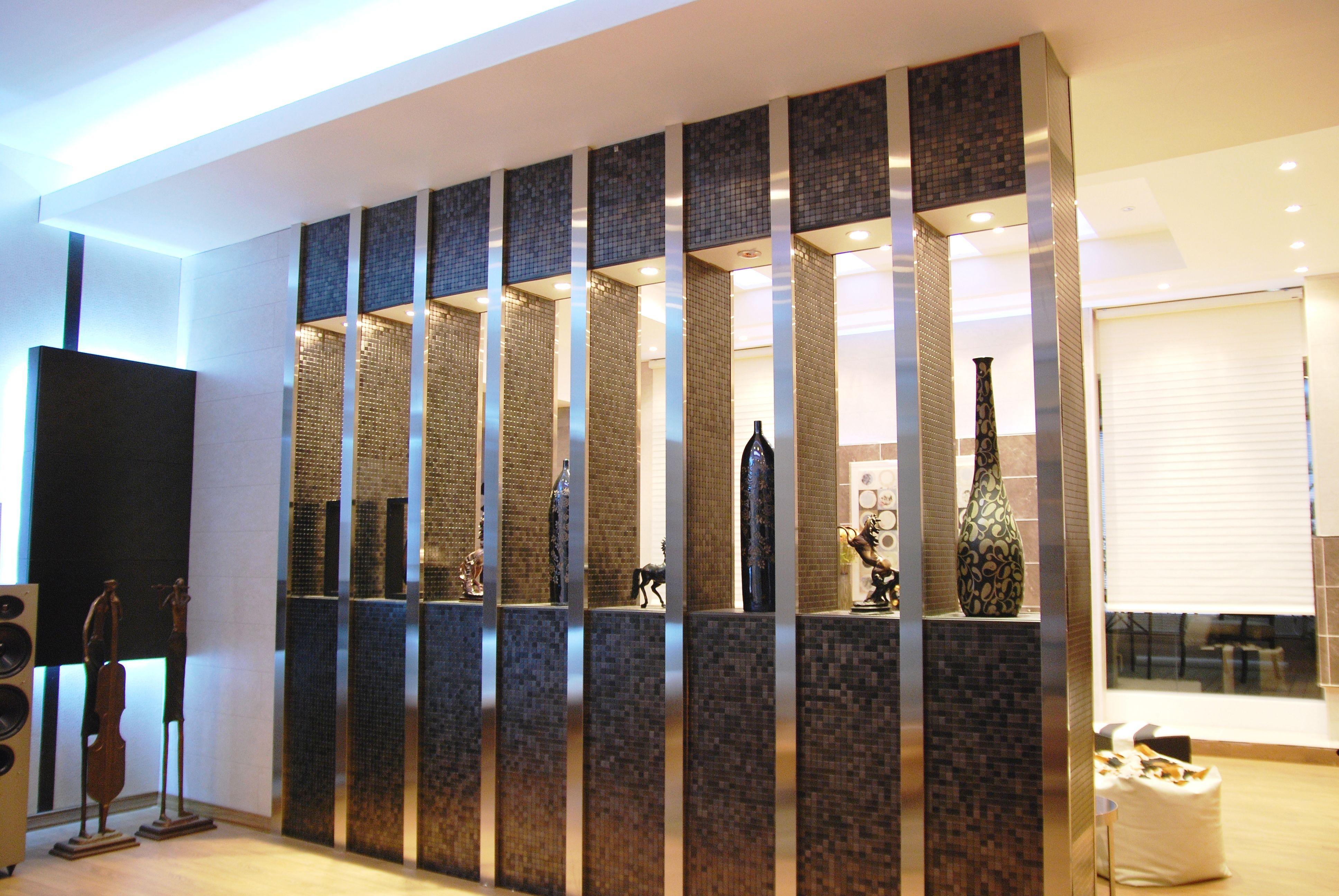 Mosaicos flexibles con variedad de colores decoracion - Muros decorativos para interiores ...