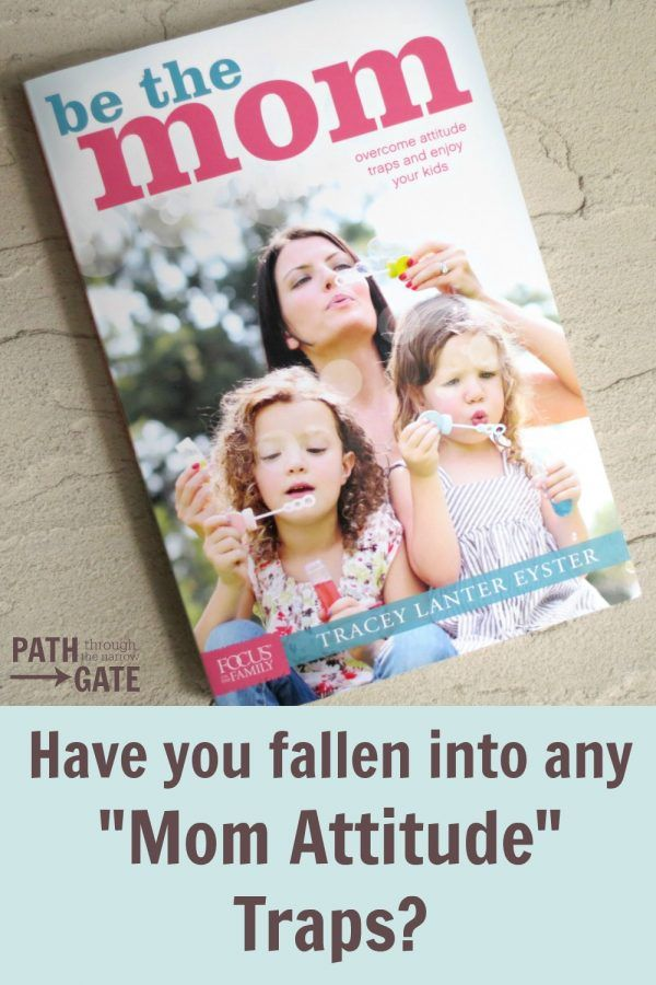 "Do you struggle with any ""mom attitude"" traps? This book helps us to battle these traps so that we can enjoy being moms.