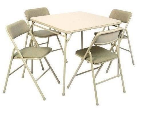 Folding Table And Chairs Interior And Architecture Design Card Table And Chairs Folding Table Table And Chairs