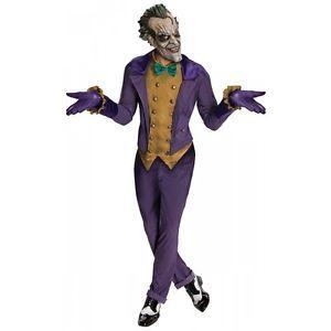 Joker Costume Adult Batman Arkham City Superhero Villain Halloween Fancy Dress  sc 1 st  Pinterest & Joker Costume Adult Batman Arkham City Superhero Villain Halloween ...