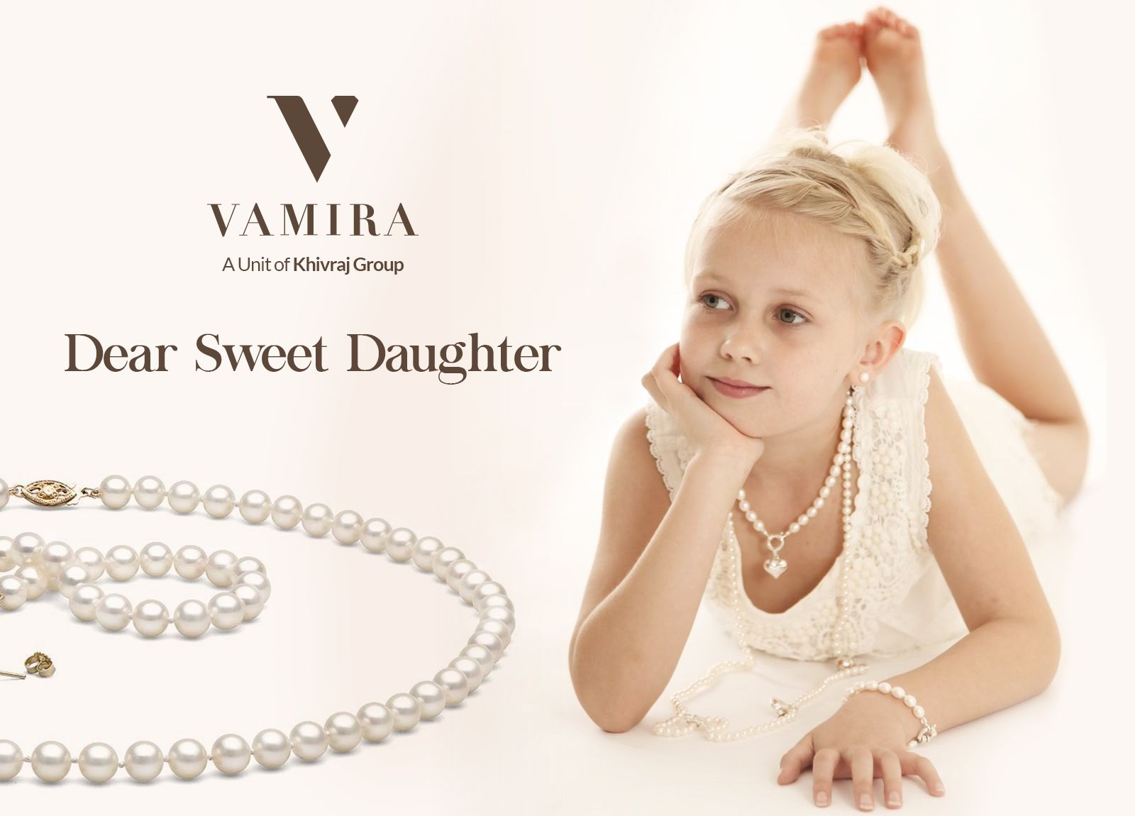 A precious #gift for our #precious little #angel. Visit www.vamira.in or book your #personal #appointment now! Call us on +91 99941 82700 +91 99417 11355 or write to us at hello@vamira.in
