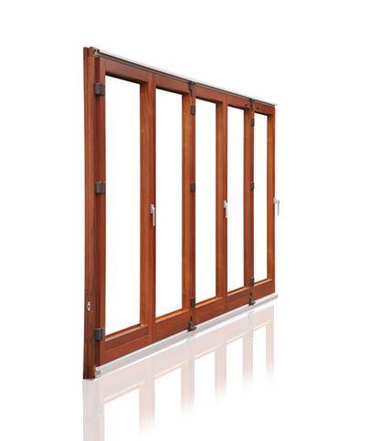 Timber - Prestige Bi-Fold Door - Factory Finish | doors | Pinterest ...