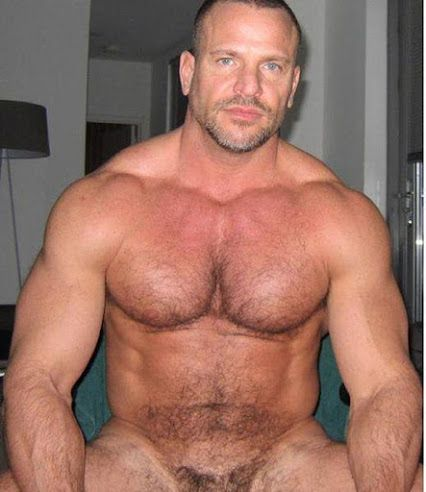 Naked Hot Hairy Guys