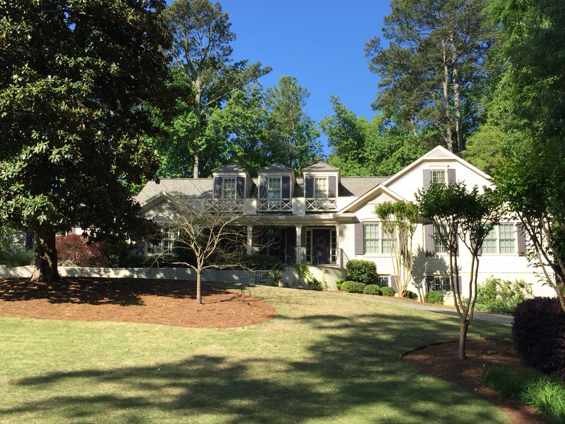 Pop The Top Renovation On A Brick Ranch Home In Chastain Park Neighborhood Of Atlanta GA