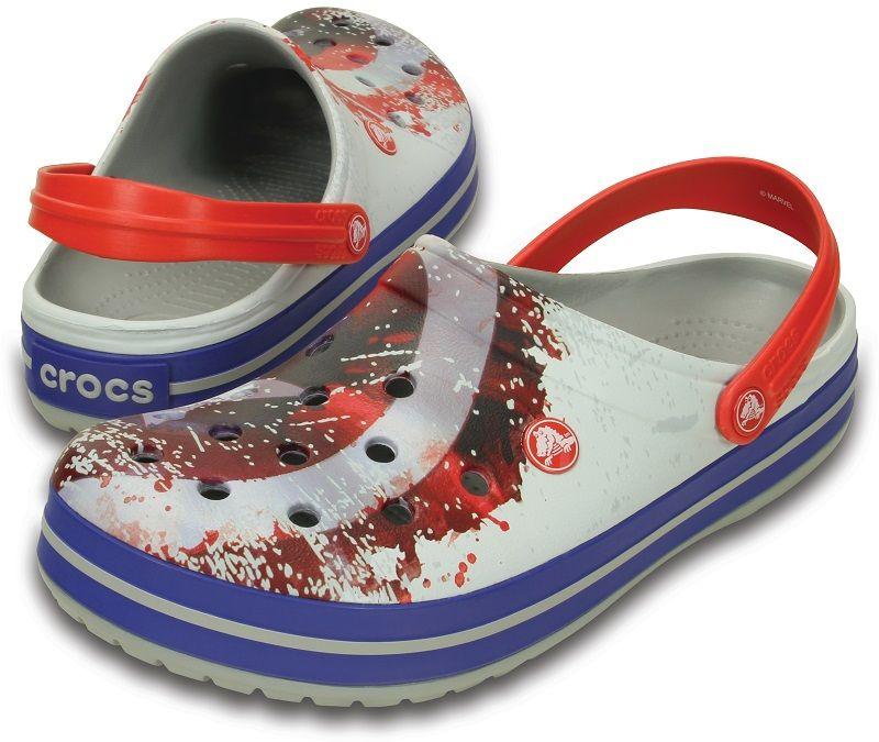 f5ee2e09d Crocband™ Avengers™ Open-Back Clogs Crocs light Grey Women 4 - Online  shopping