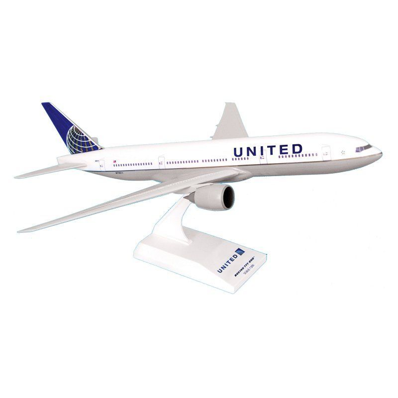 Skymarks 777 200 United Airlines Model