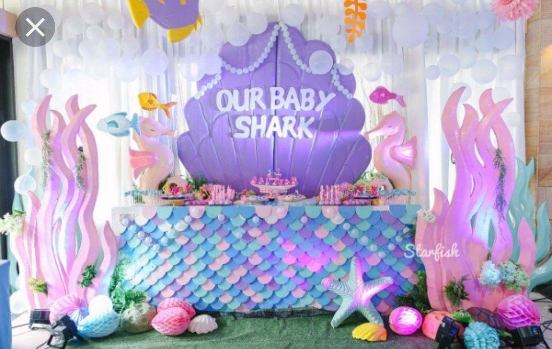 Pin by Daphne Lizeth on Jaslene's 1st bday Shark themed