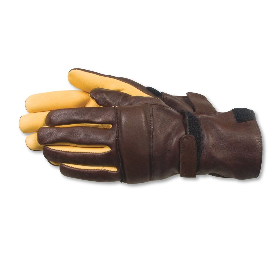 Insulated leather motorcycle gloves - Aerostich Elkskin Gauntlet Gloves