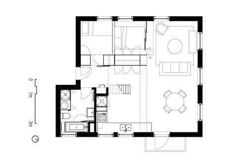 Two apartments in modern minimalist japanese style includes floor plans residential design pinterest modern minimalist japanese style and