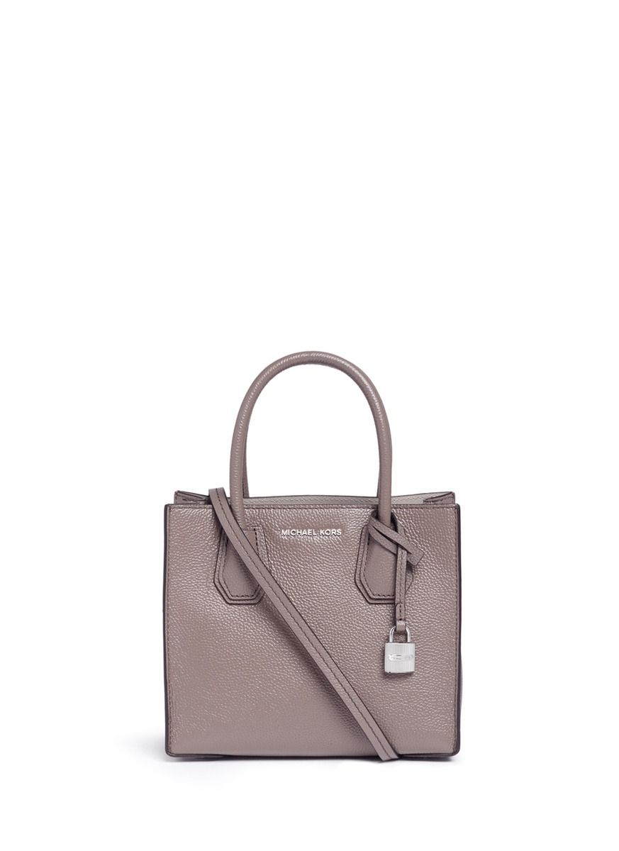 eaf1948c5ee2 MICHAEL KORS 'Mercer' Medium Padlock Charm Bonded Leather Tote. #michaelkors  #bags #shoulder bags #hand bags #leather #tote #lining #