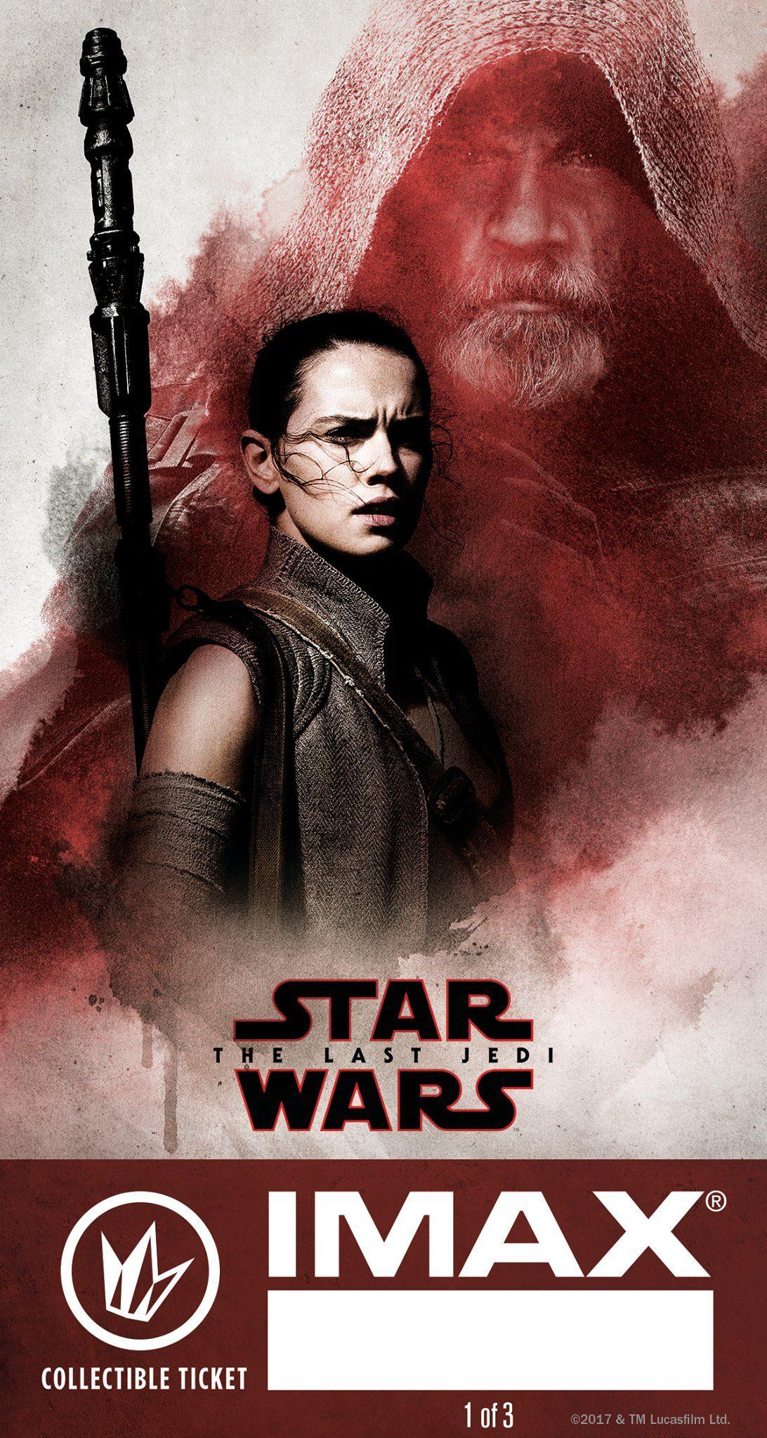 Star Wars: The Last Jedi Regal IMAX Ticket #1 | Star Wars ...