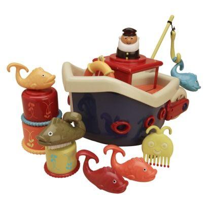 B. Fish & Splish Bath Boat $20.99