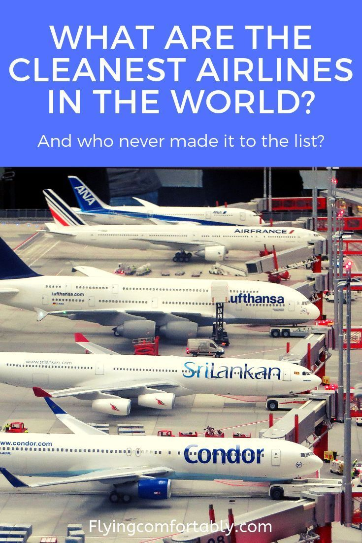 Aircraft hygiene often leaves something to be desired. But where can you really expect clean airplanes? Skytrax's World Airline Awards recently announced the cleanest airlines.  Check this article to see who made it to the list of cleanest airlines in the world!   #airlines #flyhealthy