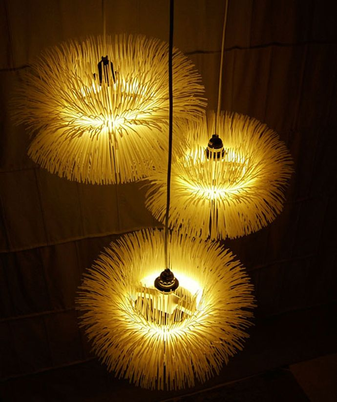 Create Your Own Eye Catching Zip Tie Lamp