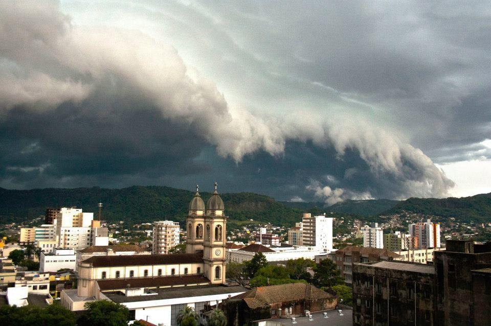 Temporal Em Santa Maria Rs Brasil Com Imagens Santa Maria
